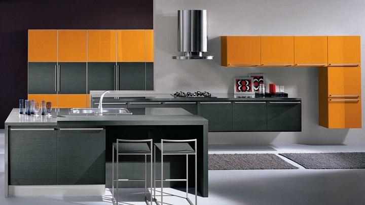 cocina naranja foto2