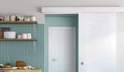 Nueva colecci n de puertas de interior de leroy merlin for Puerta corredera bano leroy merlin