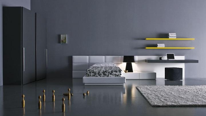 dormitorio gris foto1
