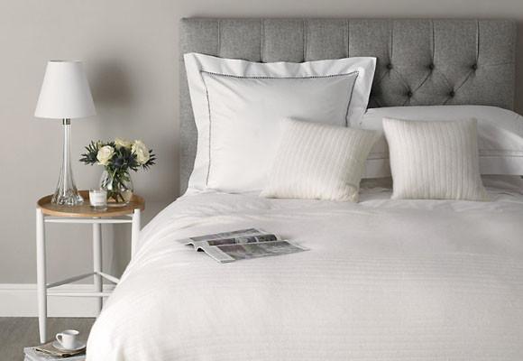 Dormitorio gris3 - Dormitorio pared gris ...