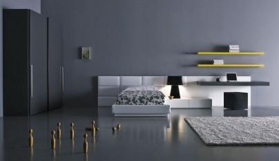 dormitorio gris40