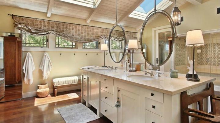 Ideas Para Decorar El Techo Del Baño:Espejo en puertas y paneles correderos