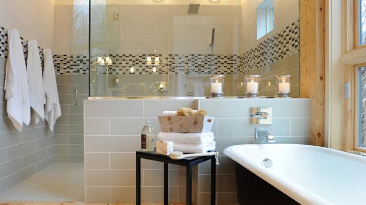 ideas to convert bathroom home spa