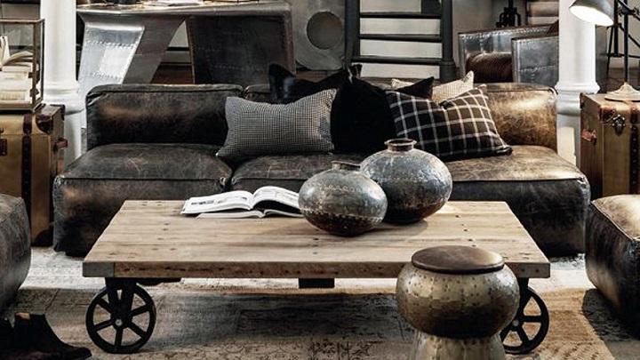 Claves de la decoraci n de estilo industrial for Cortinas estilo industrial