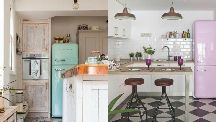 muebles retro cocina