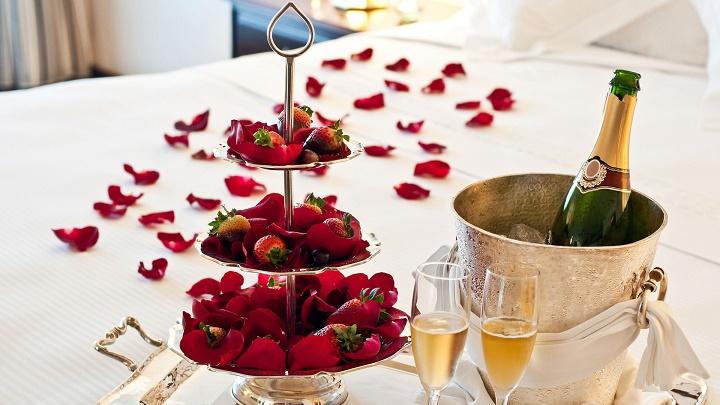 noche de bodas comida