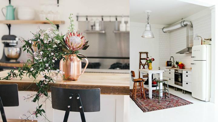 plantas cocina vintage