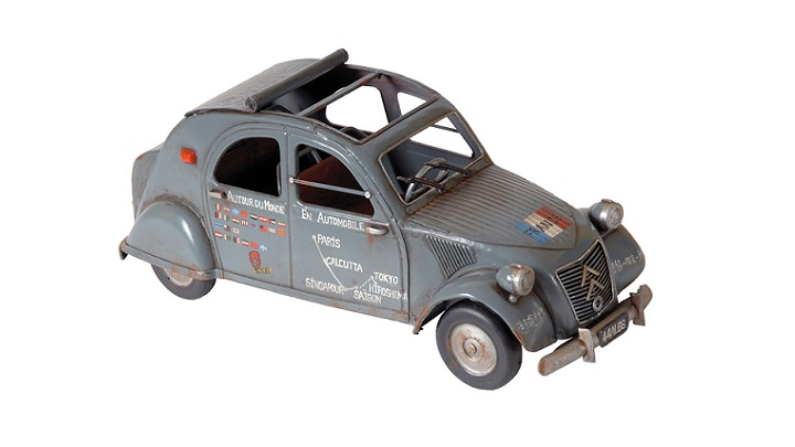 Citroen 2CV decorativo