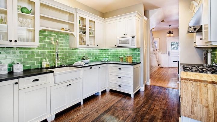 Cocina verde foto2