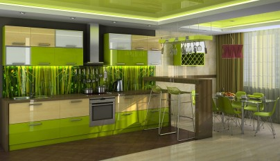 Cocina verde24