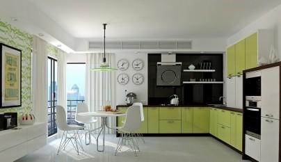 Cocina verde26