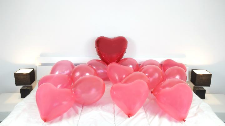 Globos decoracion san Valentin2
