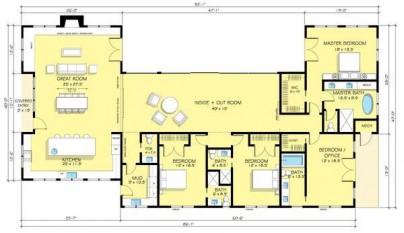 Plano casa de 316 metros cuadrados1
