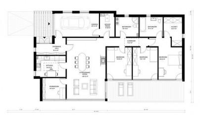 Plano de casa de 176 metros cuadrados2