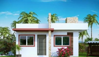 Plano de casa de 53 metros cuadrados1