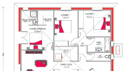Planos casa 90 metros cuadrados2