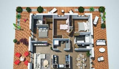 Planos casa 90 metros cuadrados3