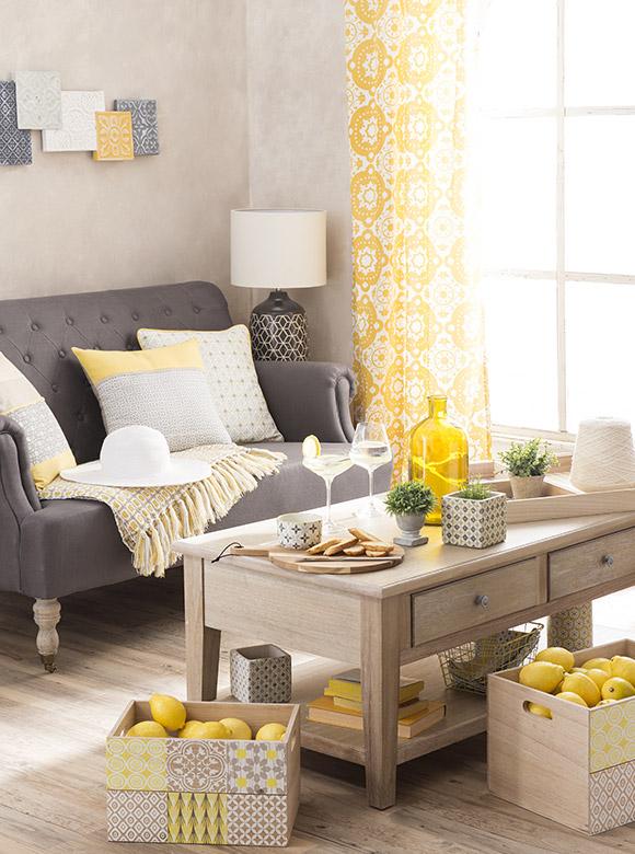 yellow summer maisons du monde10. Black Bedroom Furniture Sets. Home Design Ideas