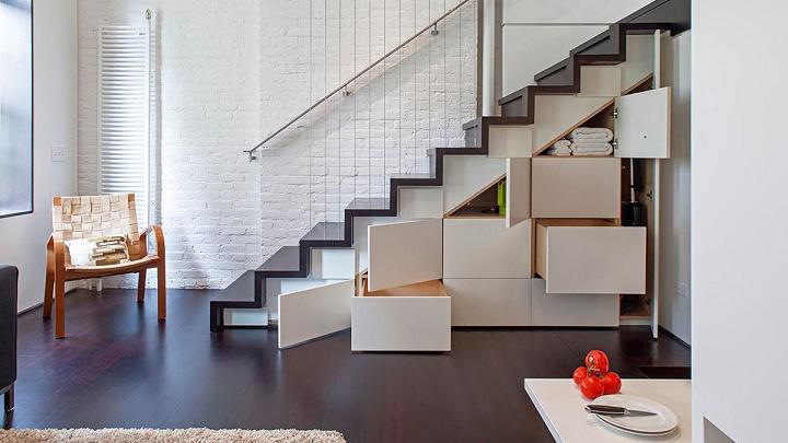 almacenaje escaleras