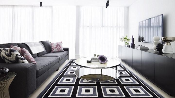 Fotos de salones en blanco y negro - Salon en blanco y negro ...