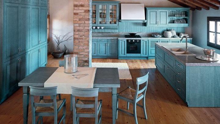 cocina azul foto1