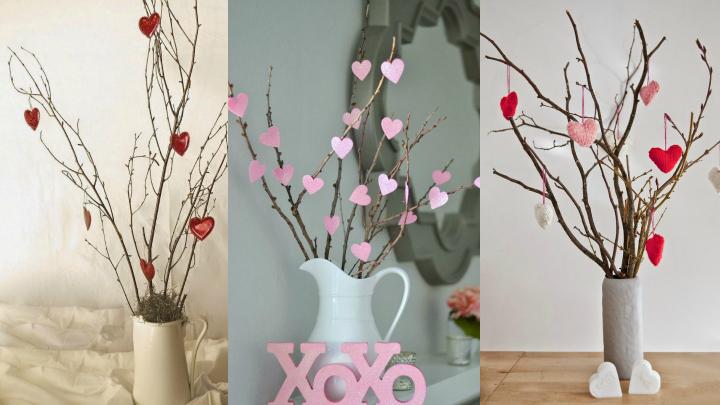 decoracion corazones san valentin