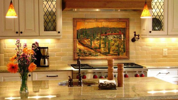 decorar una cocina de estilo toscano