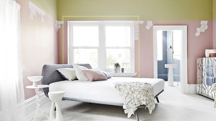 decorar con colores soft