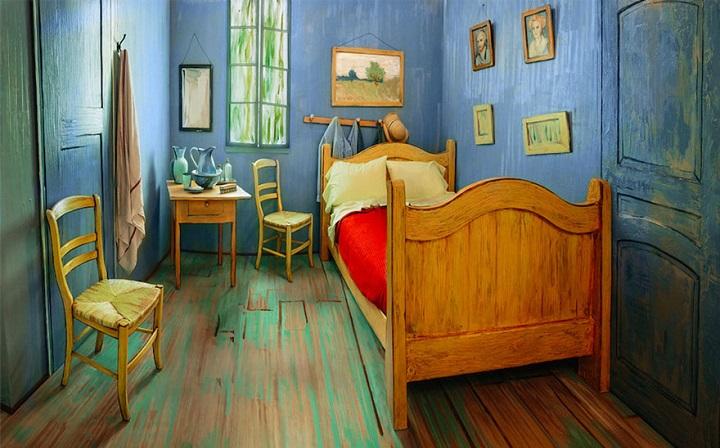 dormitorio Van Gogh 1