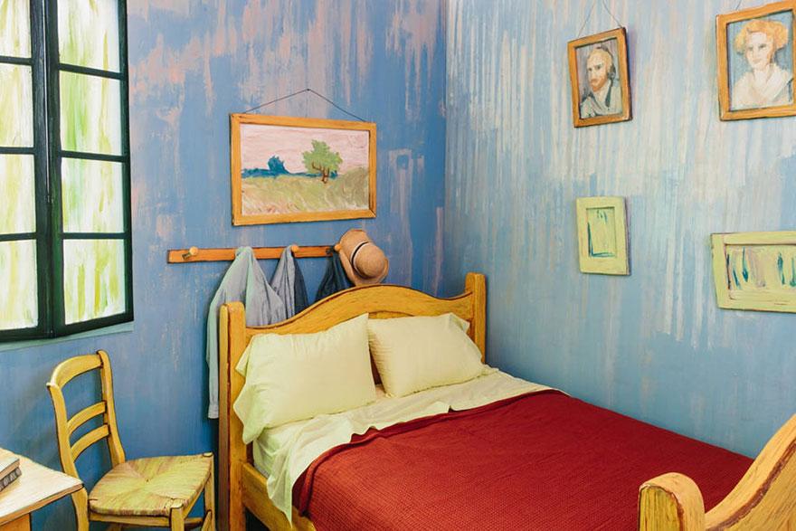 dormitorio Van Gogh 2