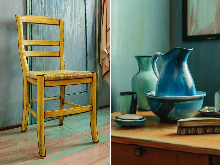 dormitorio Van Gogh 4