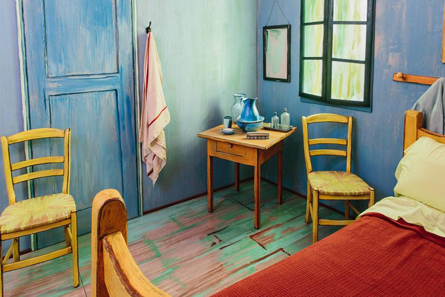 dormitorio Van Gogh 5