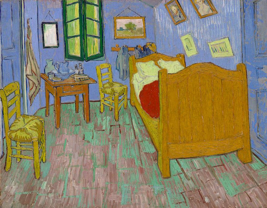 dormitorio Van Gogh 6