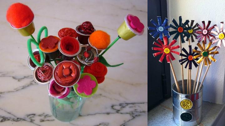 flores nespresso DIY