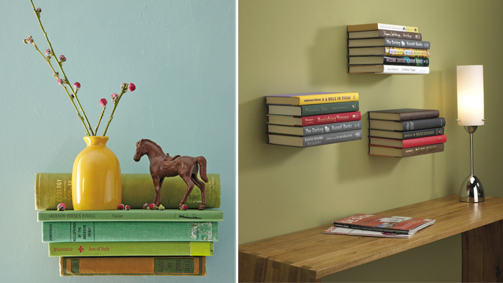 ideas decorar libros