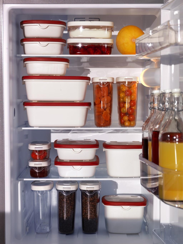 Ikea te lo pone f cil para que tengas una cocina ordenada - Botes plastico ikea ...