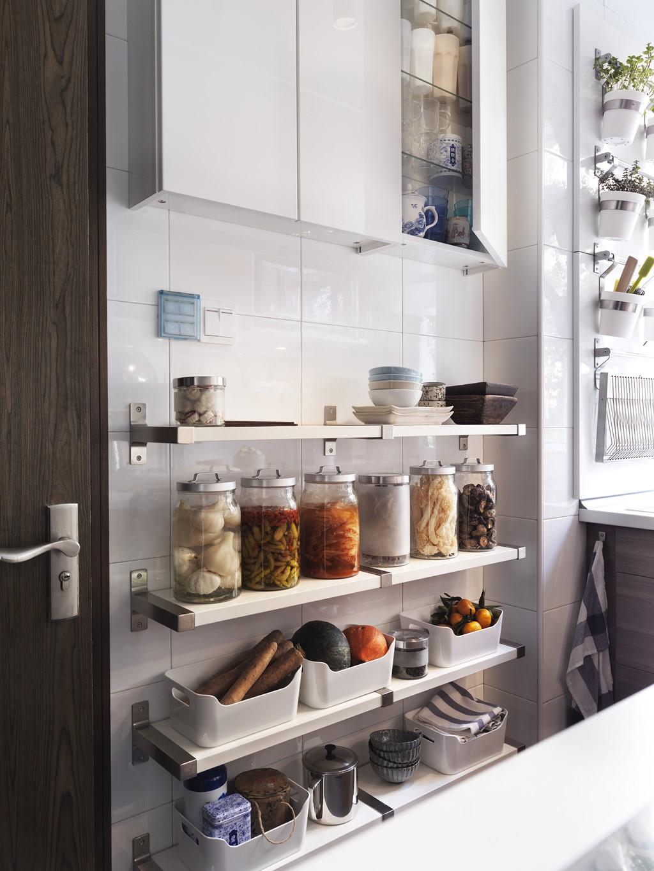 Ikea te lo pone f cil para que tengas una cocina ordenada for Peso de cocina ikea
