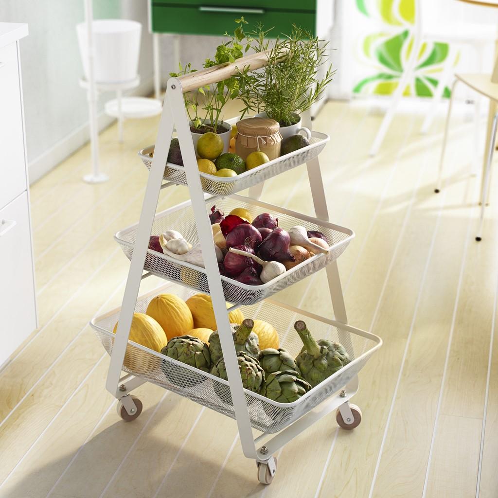 Ikea te lo pone f cil para que tengas una cocina ordenada for Carrito cocina ikea