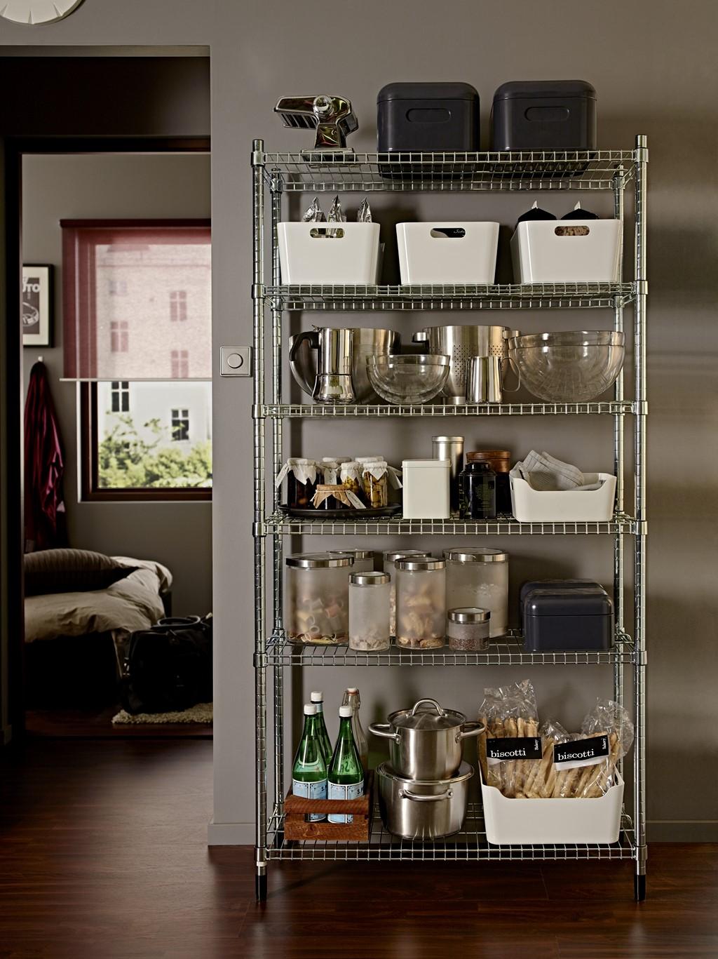 Ikea estanteria serie omar pe382779 - Estanteria cocina ikea ...
