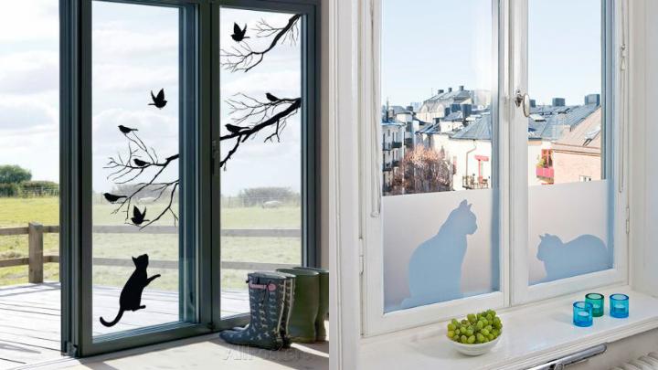 Papel decorativo para ventanas - Cristales para paredes ...