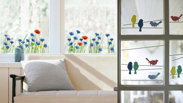 Papel decorativo para ventanas - Papel decorativo cocina ...
