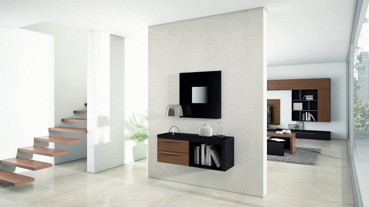 Fotos de recibidores modernos - Muebles hall modernos ...