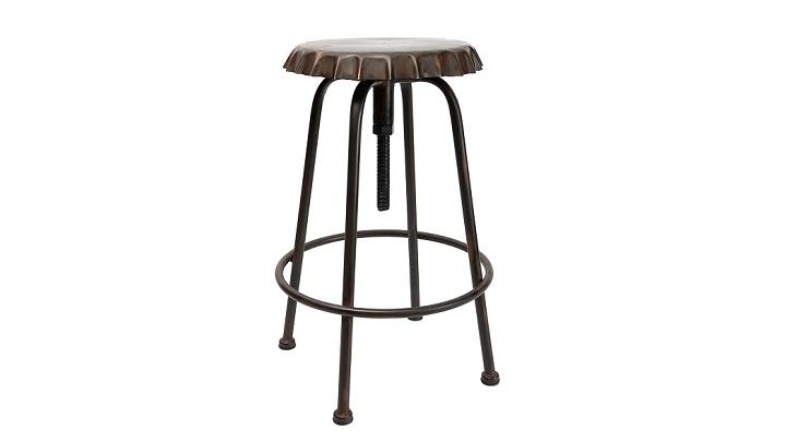 Muebles y complementos de estilo industrial for Taburete estilo industrial