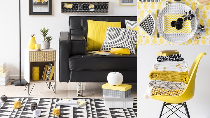Colección yellow summer de maisons du monde primavera verano 2016