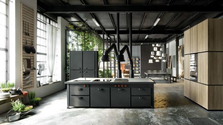 Apartamento Milan cocina