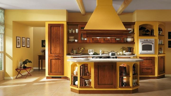 Cocina amarilla foto3