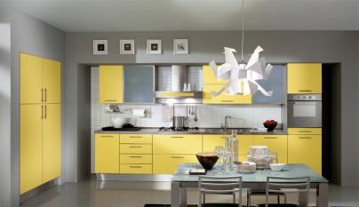 Cocina amarilla10