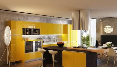 Cocina amarilla12