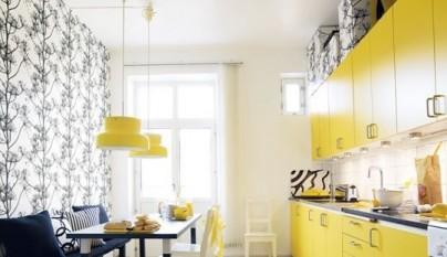 Cocina amarilla13