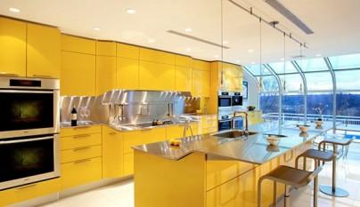 Cocina amarilla16